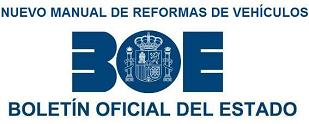 Publicada la 4ª revisión del Manual de Reformas de Vehículos. Entrará en vigor el 1 de septiembre de 2018.